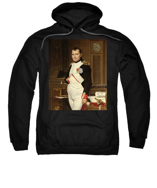 Napoleon Bonaparte In His Study Sweatshirt