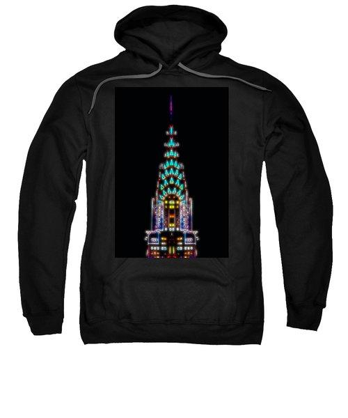 Neon Spires Sweatshirt by Az Jackson