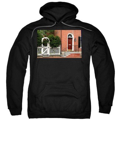 New England Street Scene Sweatshirt