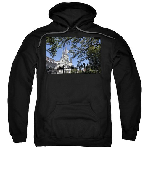 St Louis Cathedral In New Orleans New Orleans 18 Sweatshirt