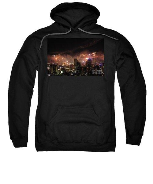 New Year Fireworks Sweatshirt
