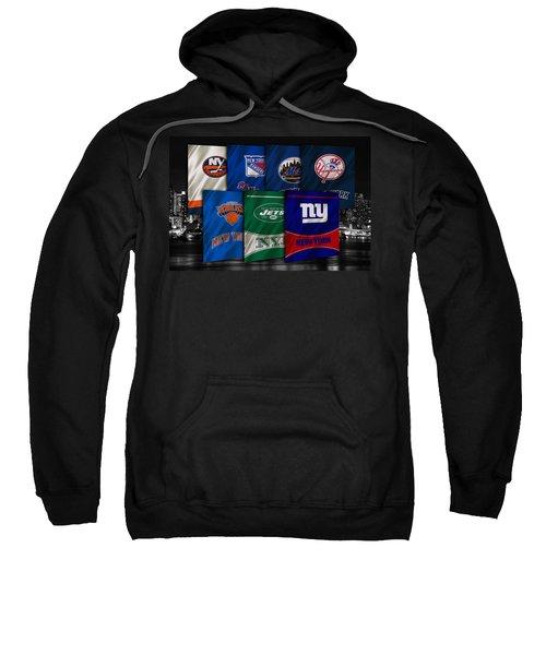 New York Sports Teams Sweatshirt