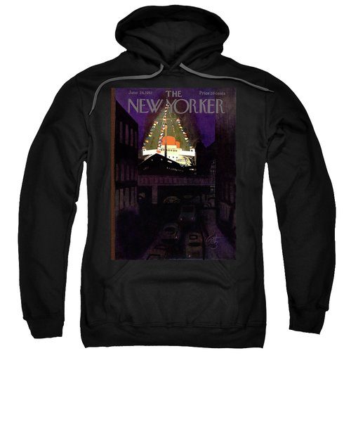 New Yorker June 28th, 1952 Sweatshirt