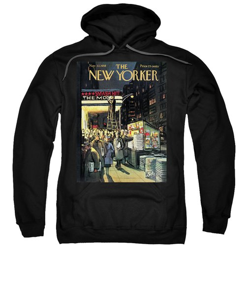 New Yorker November 22nd, 1958 Sweatshirt