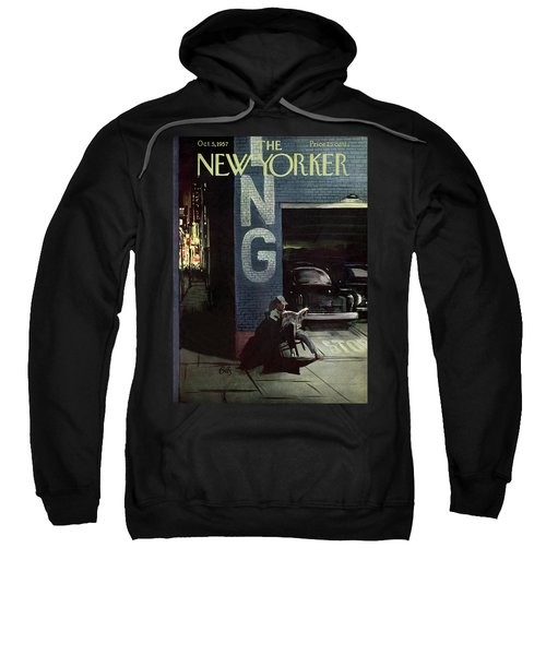New Yorker October 5th, 1957 Sweatshirt