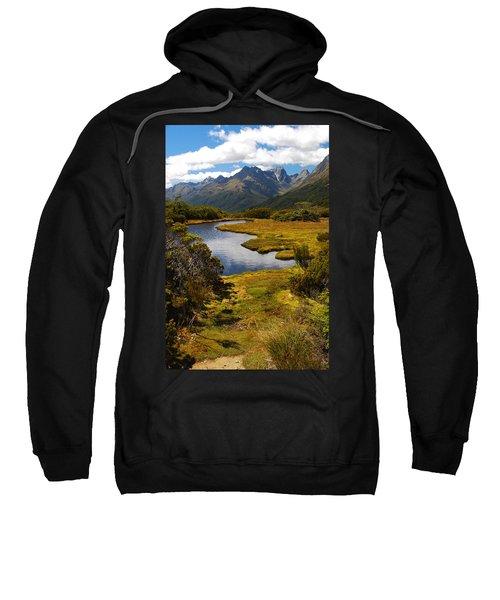 New Zealand Alpine Landscape Sweatshirt