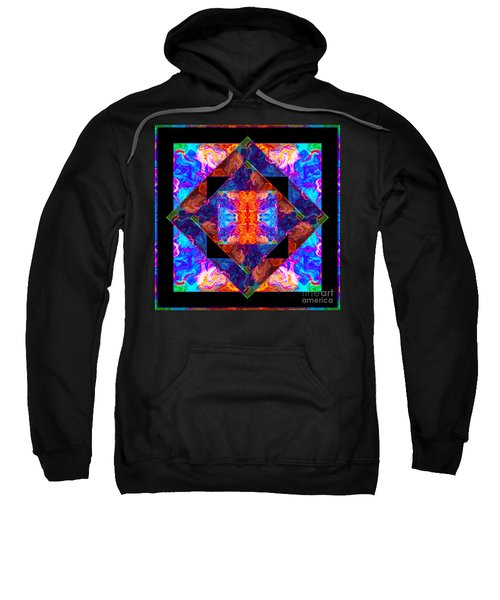 Newly Formed Bliss Mandala Artwork Sweatshirt