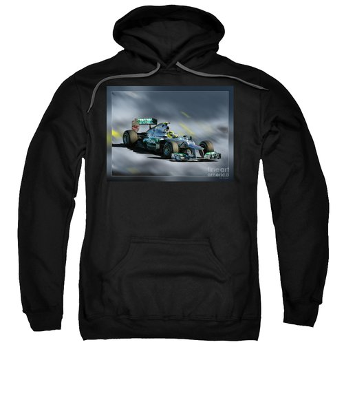 Nico Rosberg Mercedes Benz Sweatshirt
