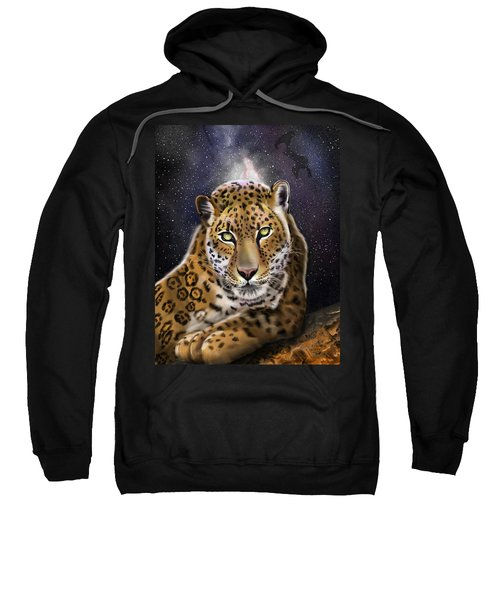 Fourth Of The Big Cat Series - Leopard Sweatshirt