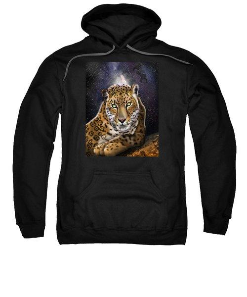Fourth Of The Big Cat Series - Leopard Sweatshirt