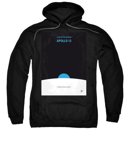 No151 My Apollo 13 Minimal Movie Poster Sweatshirt