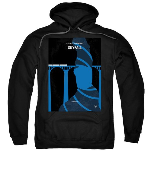 No277-007-2 My Skyfall Minimal Movie Poster Sweatshirt