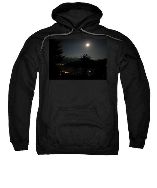 Nocturne In Switzerland Sweatshirt