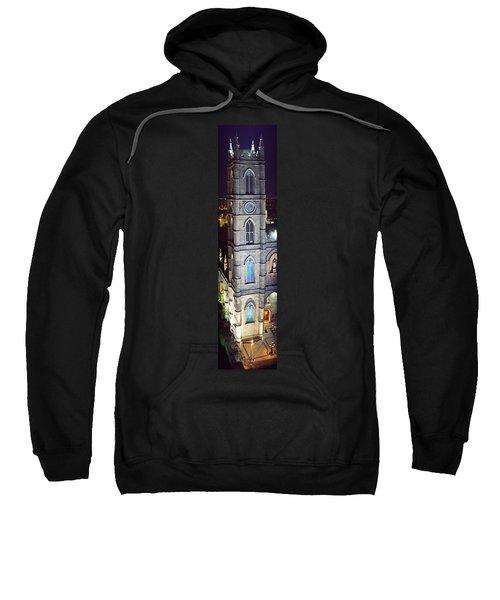 Notre Dame De Montreal At Night Sweatshirt