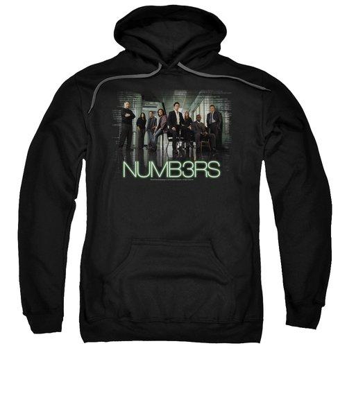 Numb3rs - Numbers Cast Sweatshirt