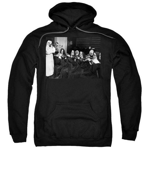 Nuns Rehearse For Concert Sweatshirt