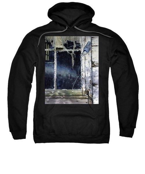 Nuthatch And Window Sweatshirt