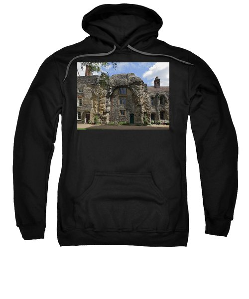 Old Abbey Ruins At Bury St Edmunds Sweatshirt