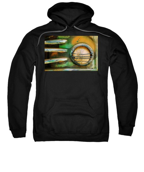 Old Car Headlight Sweatshirt