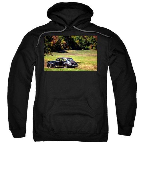 Old Car In A Meadow Sweatshirt