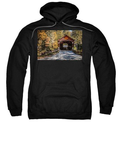 Old Covered Bridge Vermont Sweatshirt
