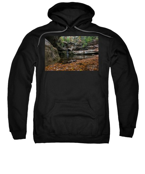 Old Mans Cave Sweatshirt by James Dean