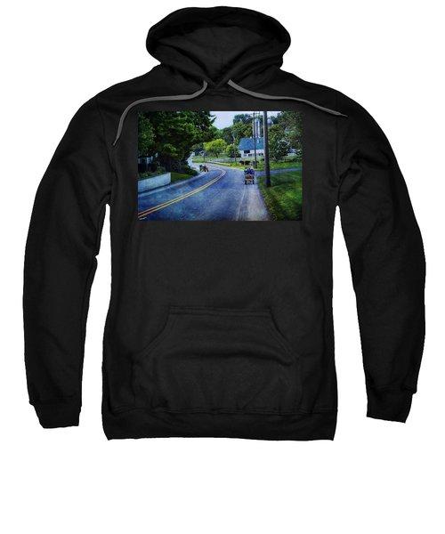 On A Country Road - Lancaster - Pennsylvania Sweatshirt
