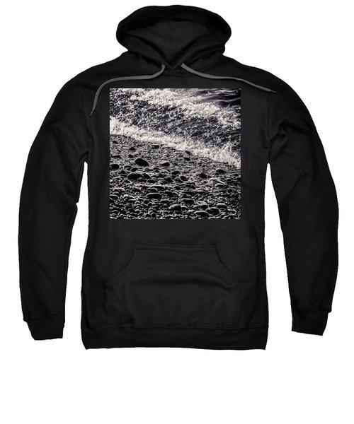 On The Rocks  French Beach Square Sweatshirt
