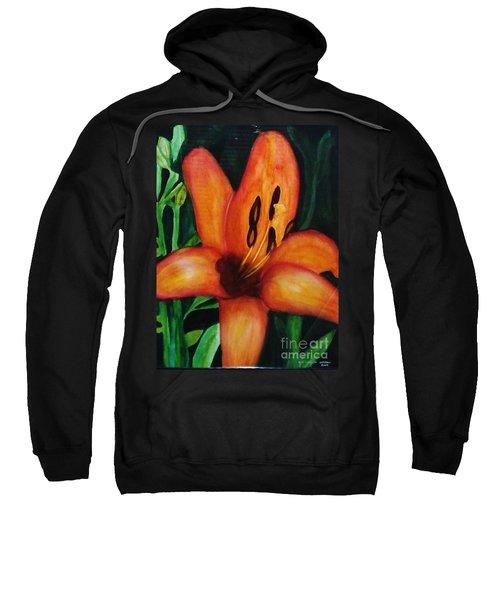 Beautiful Lily Flower Sweatshirt