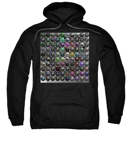 Ornamental Hubcaps Sweatshirt