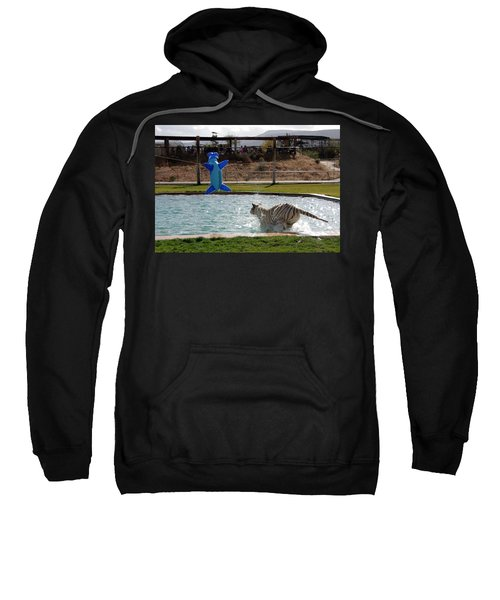 Out Of Africa Tiger Splash 3 Sweatshirt