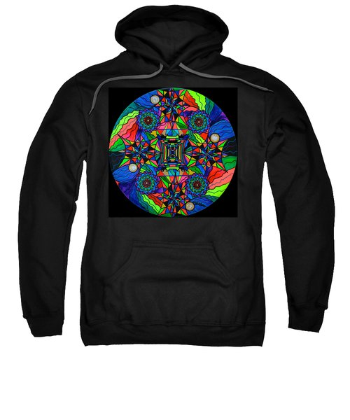 Out Of Body Activation Grid Sweatshirt