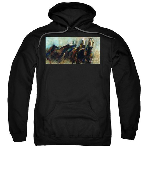 Out Of The Blue Into Reality Sweatshirt