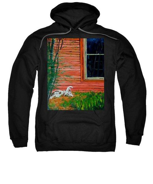 Outside The Artist's Studio Sweatshirt