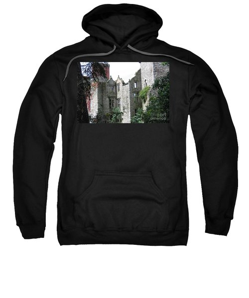 Sweatshirt featuring the photograph Overgrown by Denise Railey