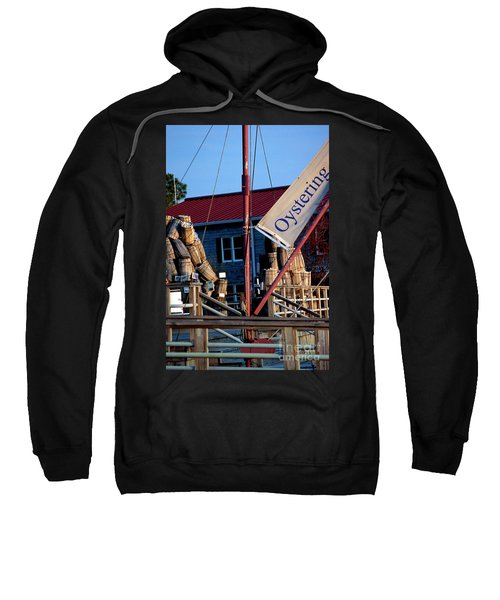 Oystering History At The Maritime Museum In Saint Michaels Maryland Sweatshirt