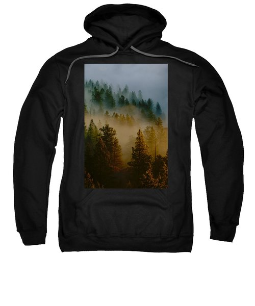 Pacific Northwest Morning Mist Sweatshirt