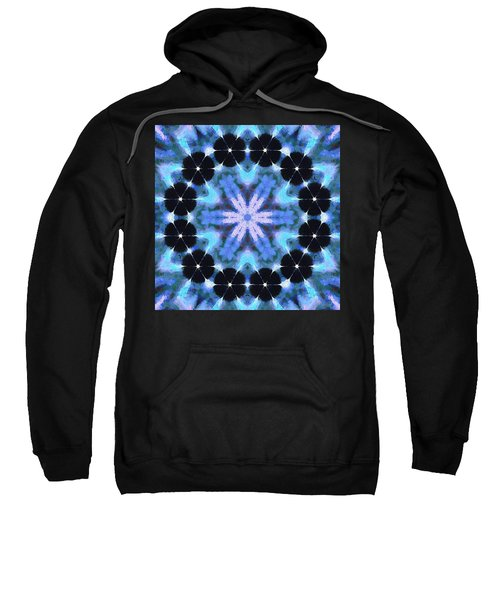 Painted Cymatics 108.00hz Sweatshirt