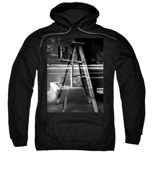 Painted Illusions - Abstract Sweatshirt