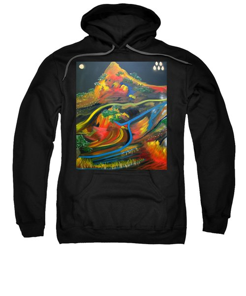 Painted Landscape Sweatshirt