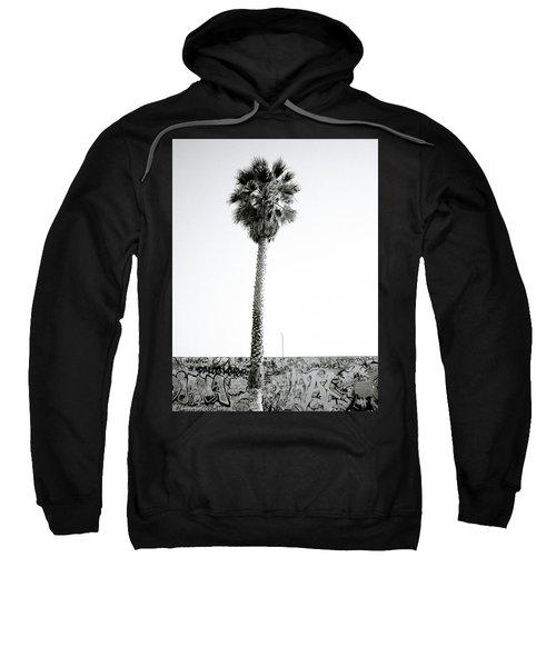 Palm Tree And Graffiti Sweatshirt