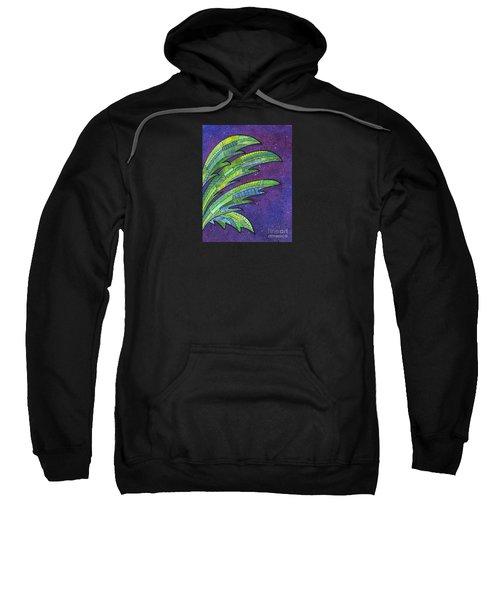 Palms Against The Night Sky Sweatshirt