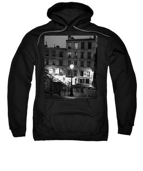 Paris-steps-montmartre Sweatshirt