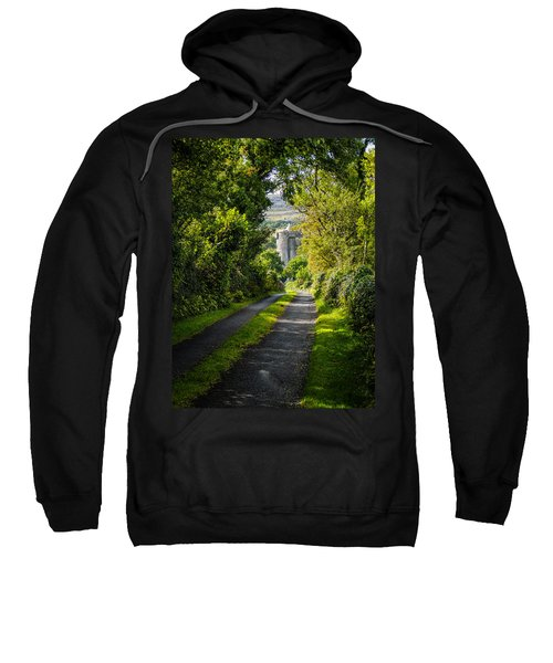 Sweatshirt featuring the photograph Path To Newtown Castle by James Truett