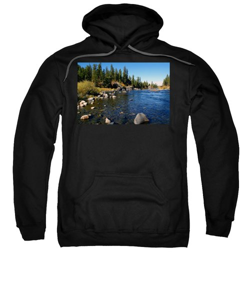 Peace On The Spokane River 2 Sweatshirt