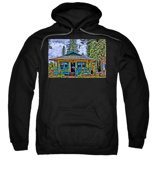 Pele's Lanai Island Hawaii Sweatshirt by DJ Florek