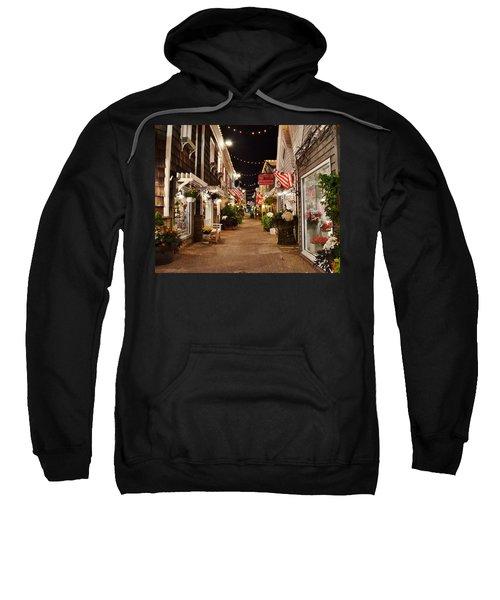 Penny Lane At Night - Rehoboth Beach Delaware Sweatshirt