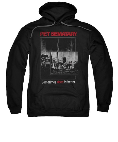 Pet Semetary - Cat Poster Sweatshirt