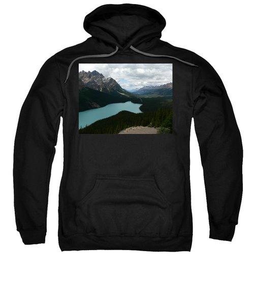 Peyote Lake In Banff Alberta Sweatshirt
