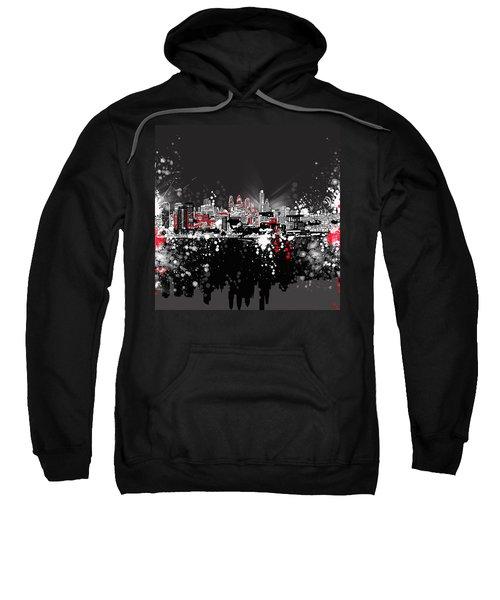 Philadelphia Skyline Abstract 5 Sweatshirt